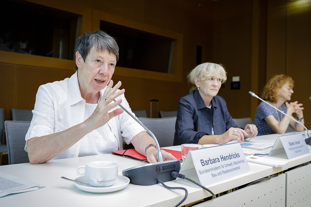 Pressekonferenz am 23. Juni 2017 im BMUB