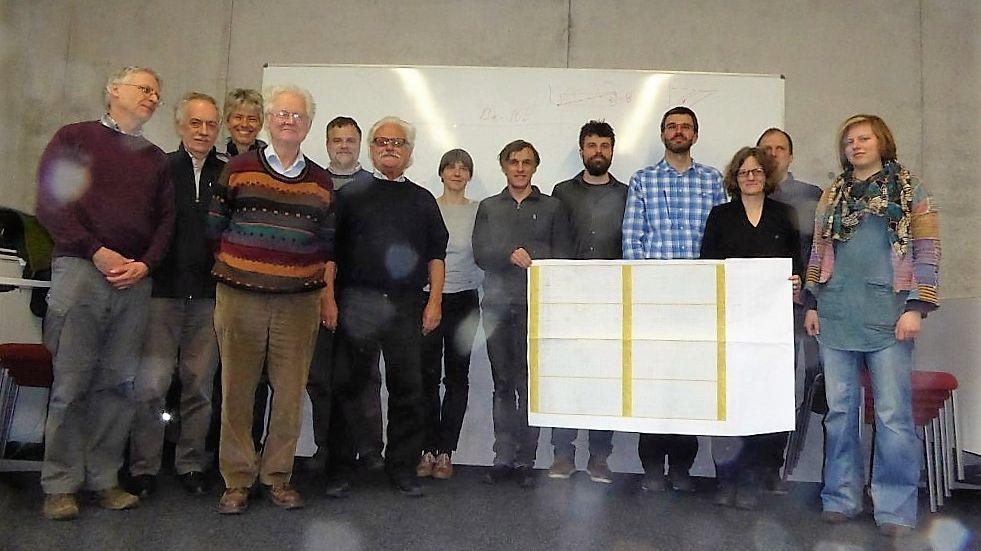 Gruppenbild der Workshopteilnehmer